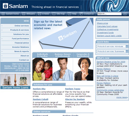 African Life / Sanlam Website