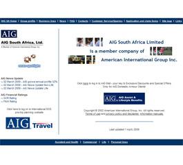 AIG Website
