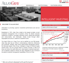 Allan Gray Website