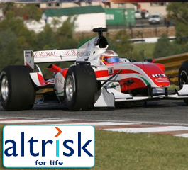 Racing drivers Insurance available at Altrisk