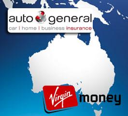 Auto and General has underwritten Virgin Money in Australia