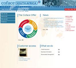 Coface Website