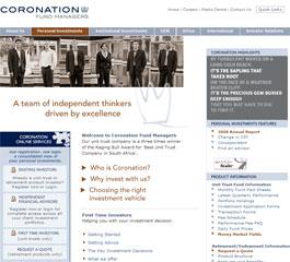 Coronation Website
