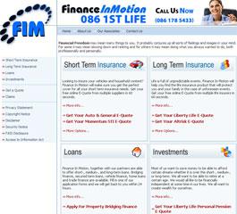 Finance In Motion Website