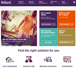 Hollard Insurance Website