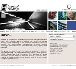 Imperial Insurance Website