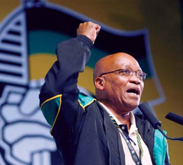 President Jacob Zuma gave a speech this week