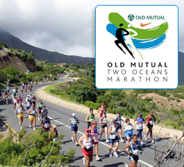 Old Mutual Two Oceans half marathon entries is being bid on