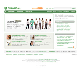 Old Mutual Website