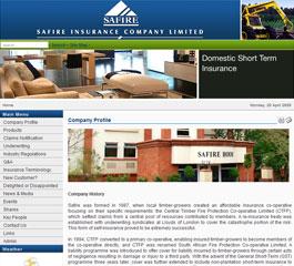 Safire Insurance Website
