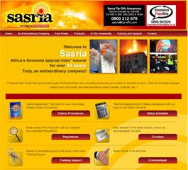 Sasria Website