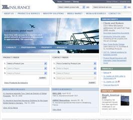 XL Insurance Website