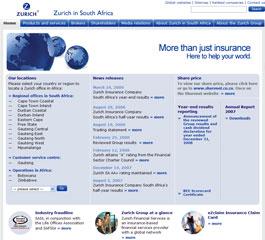 Zurich Website